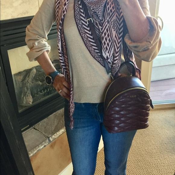 d02efb7cf535b5 Dkny Bags | Lara Mini Leather Backpack Crossbody Purse | Poshmark
